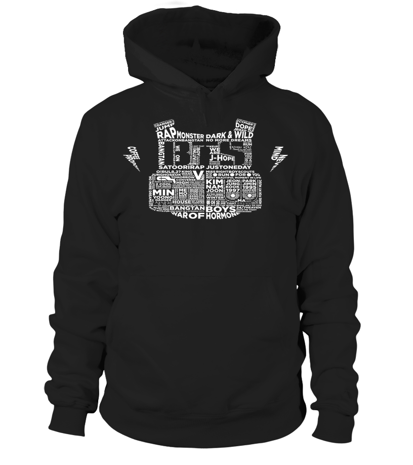 "BTS ""BULLETPROOF"" Clothing - MYKPOPMART"