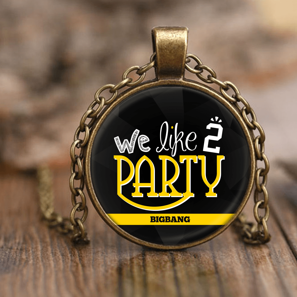 "BIG BANG ""WE LIKE 2 PARTY"" Necklaces - MYKPOPMART"