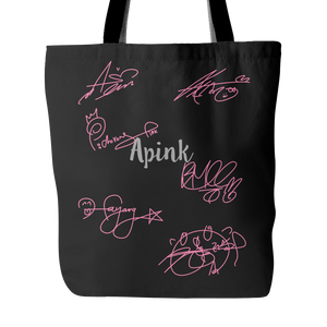 "APINK ""AUTOGRAPH"" Tote Bags - MYKPOPMART"