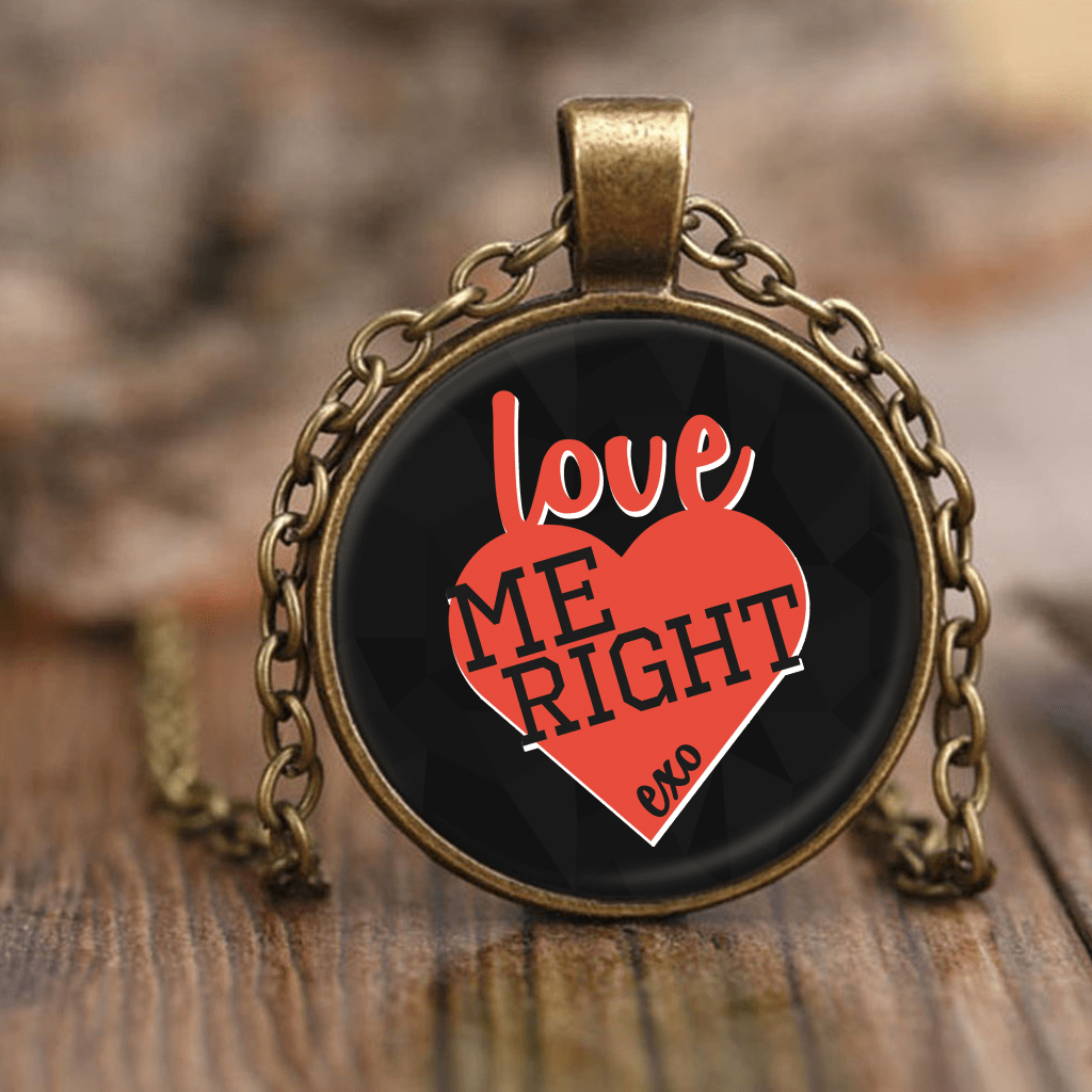 "EXO ""LOVE ME RIGHT"" Necklaces - MYKPOPMART"