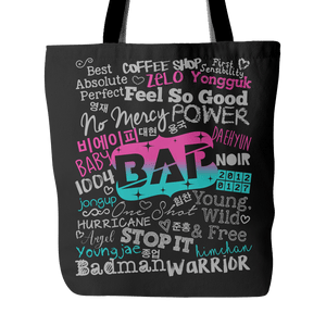 "B.A.P ""COLLAGE"" 2016 Tote Bags - MYKPOPMART"