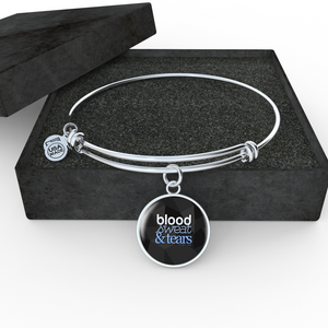 "BTS ""BLOOD SWEAT & TEARS"" Bangle - MYKPOPMART"