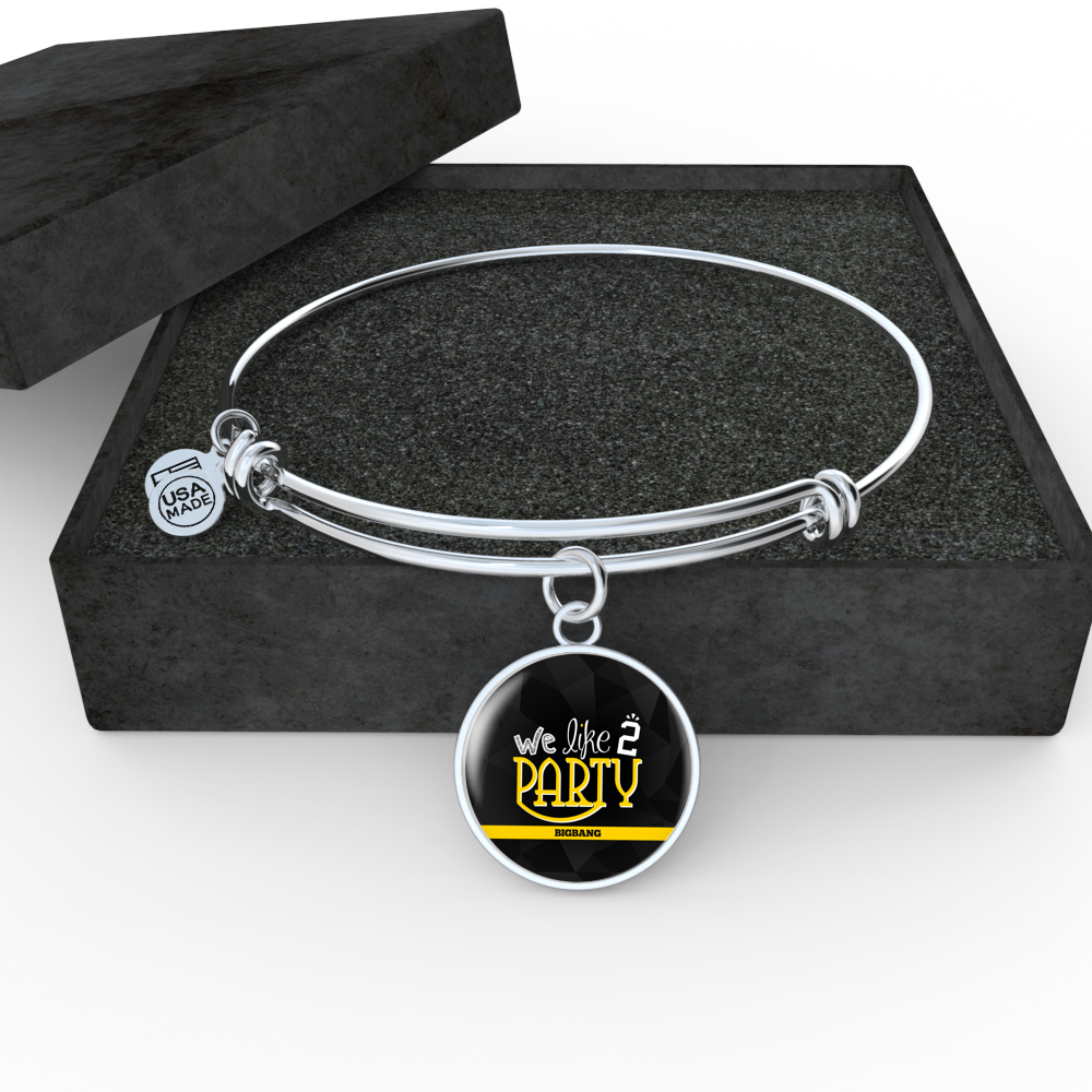"BIG BANG ""WE LIKE 2 PARTY"" Bangle - MYKPOPMART"