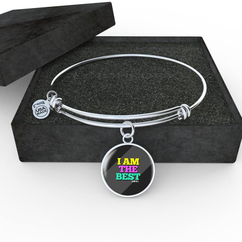 "2NE1 ""I AM THE BEST"" Bangle - MYKPOPMART"