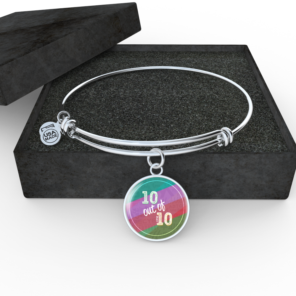 "2PM ""10 OUT OF 10"" Bangle - MYKPOPMART"