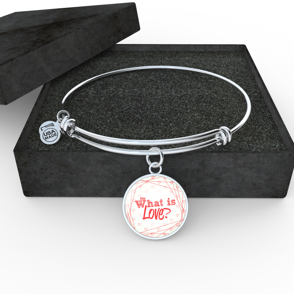 "EXO ""WHAT IS LOVE"" Bangle - MYKPOPMART"