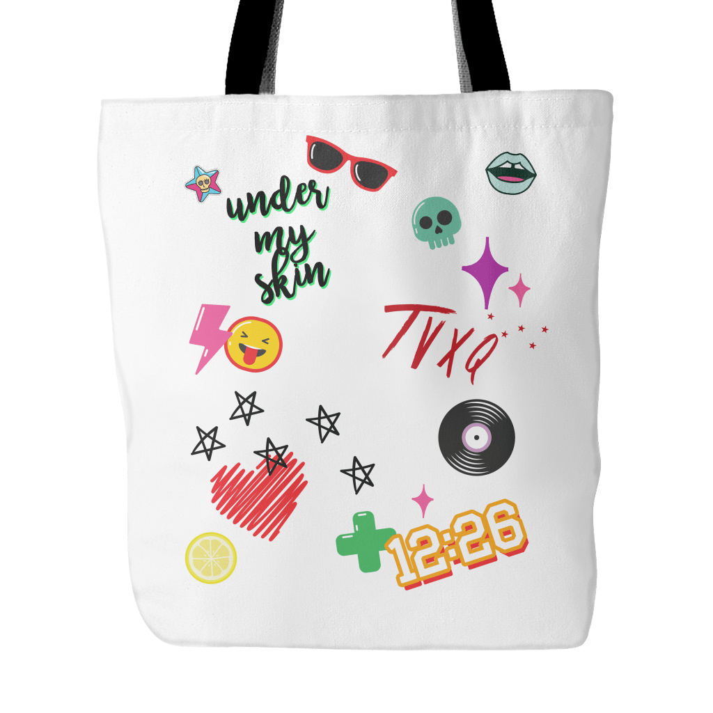 "TVXQ ""iCONS"" Tote Bags - MYKPOPMART"