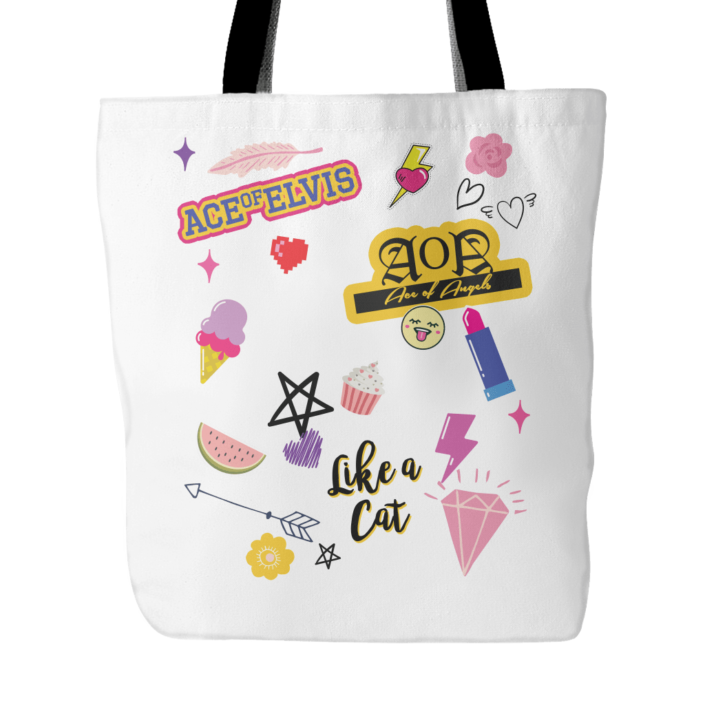 "AOA ""iCONS"" Tote Bags - MYKPOPMART"