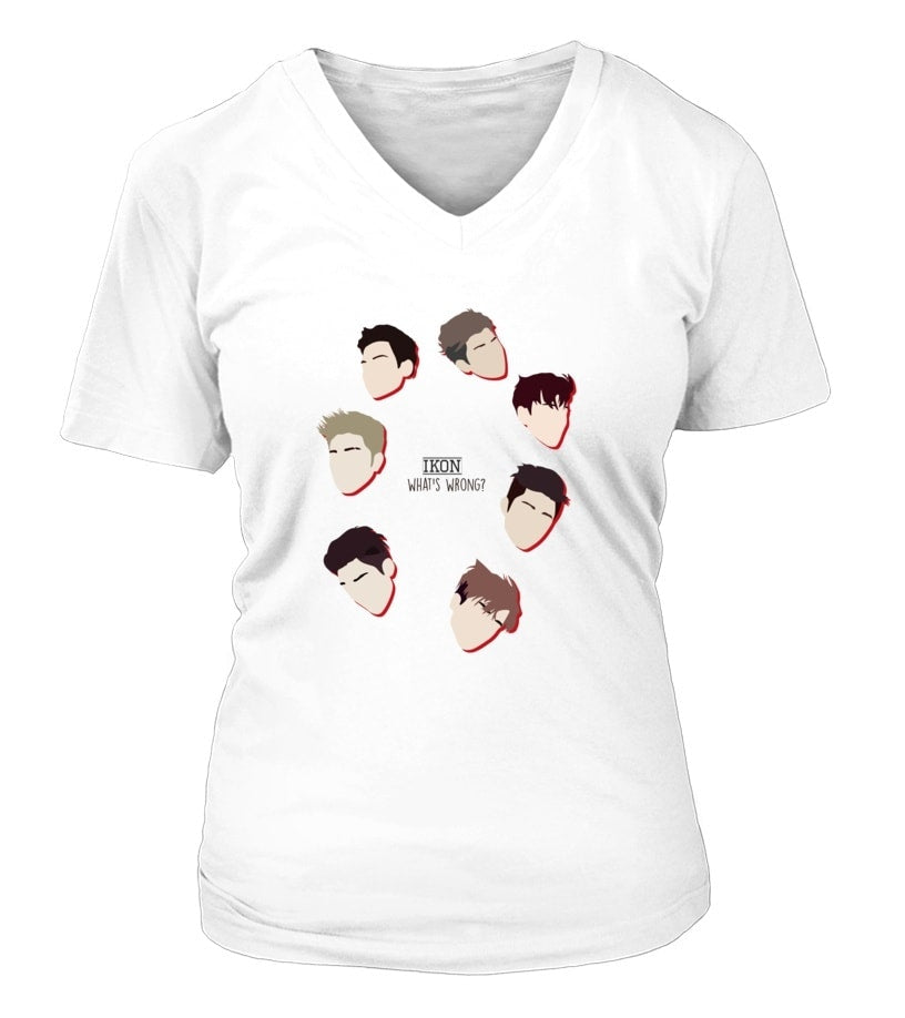 "iKON ""WHAT'S WRONG"" Clothing - MYKPOPMART"