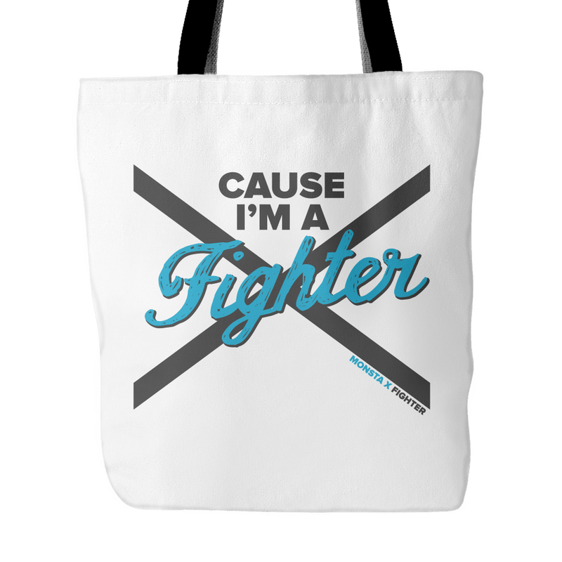 "MONSTA X ""FIGHTER"" Tote Bags - MYKPOPMART"