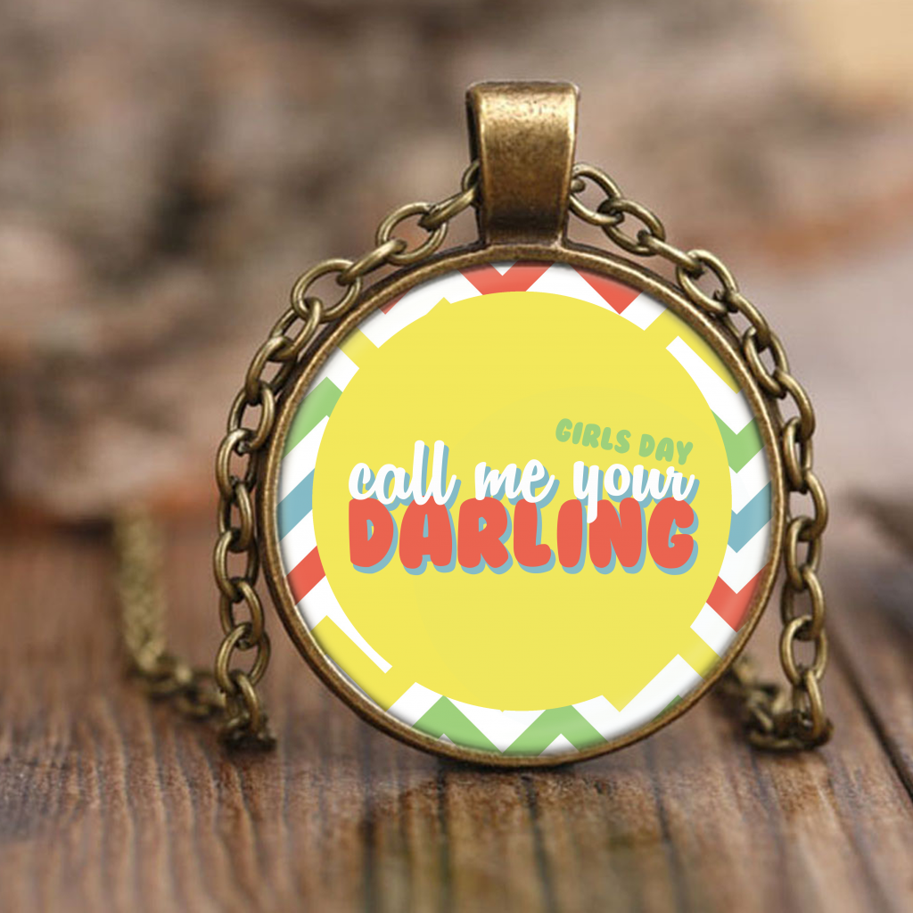"GIRL'S DAY ""DARLING"" Necklaces - MYKPOPMART"