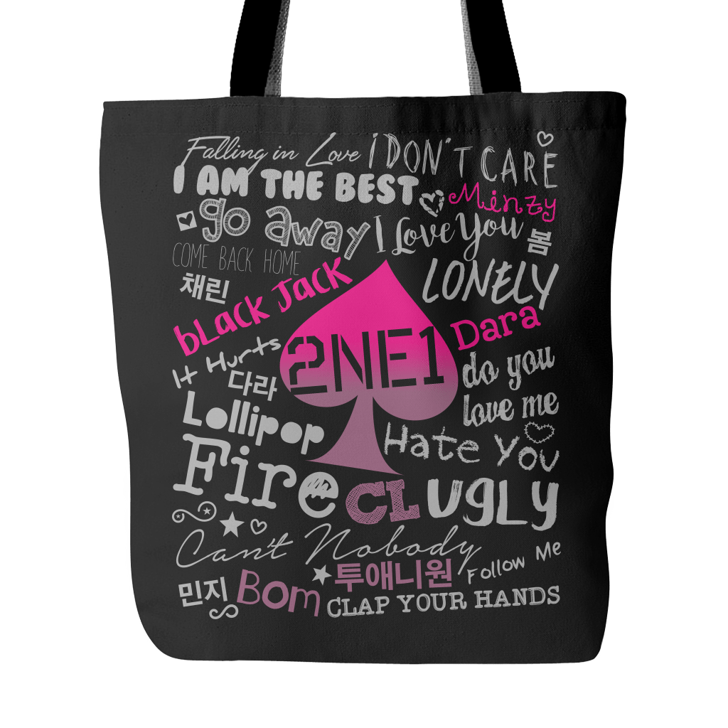 "2NE1 ""COLLAGE"" 2016 Tote Bags - MYKPOPMART"