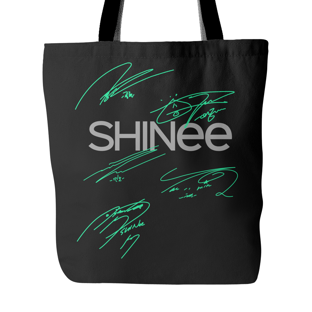 "SHINee ""AUTOGRAPH"" Tote Bags - MYKPOPMART"