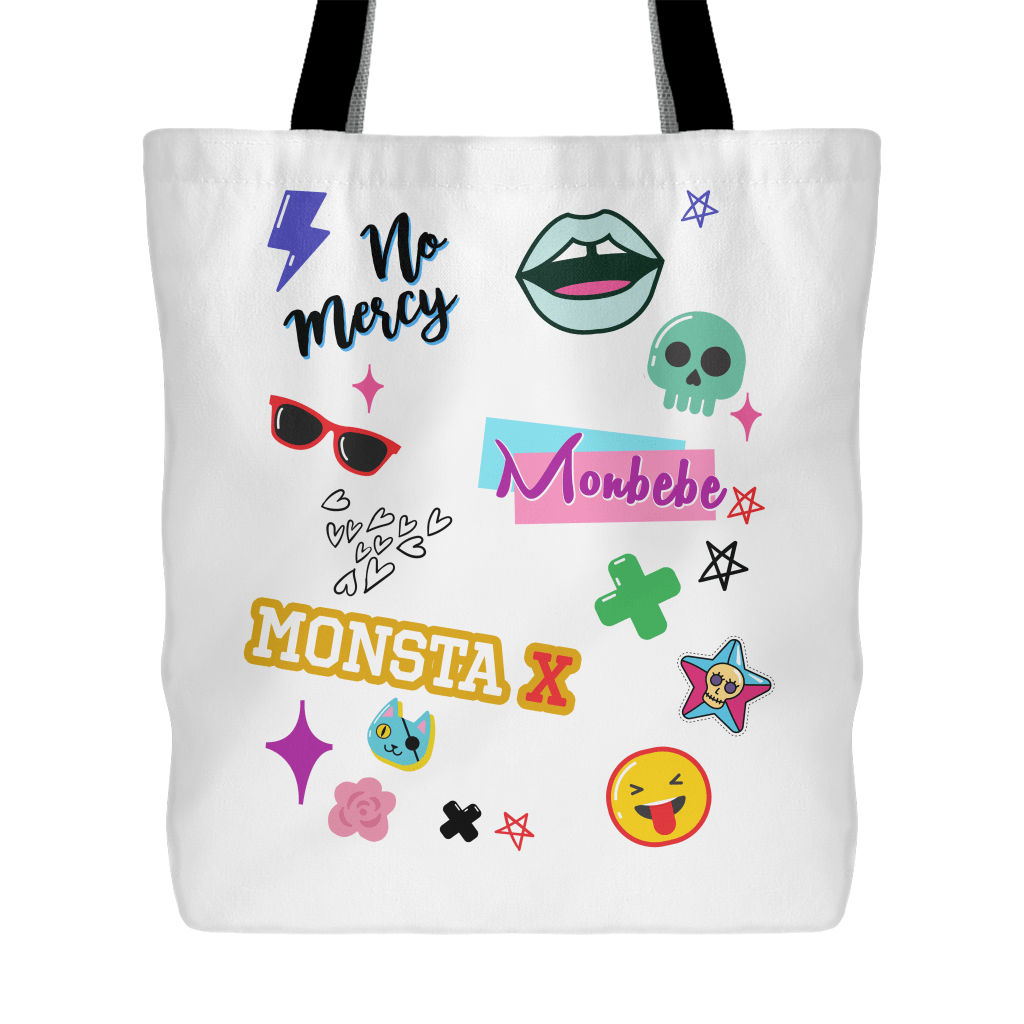 "MONSTA X ""iCONS"" Tote Bags - MYKPOPMART"