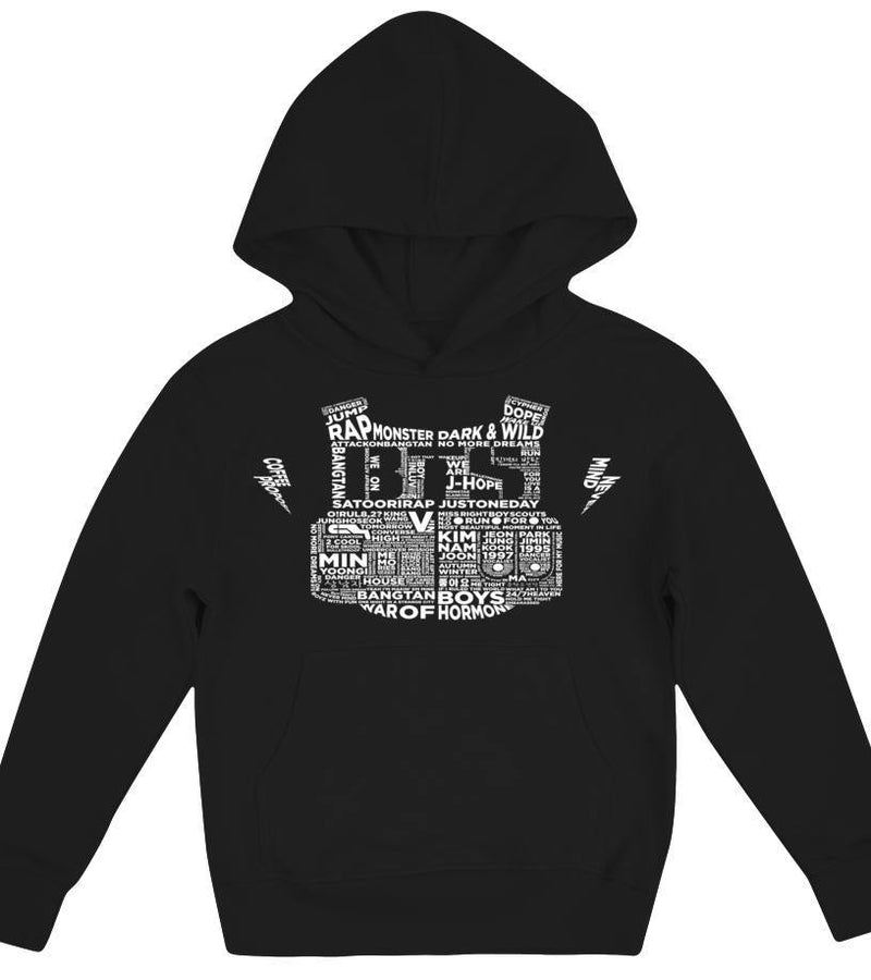 "BTS ""BULLETPROOF"" Kids Clothing - MYKPOPMART"