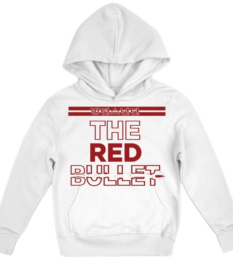"BTS ""RED BULLET"" Kids Clothing - MYKPOPMART"