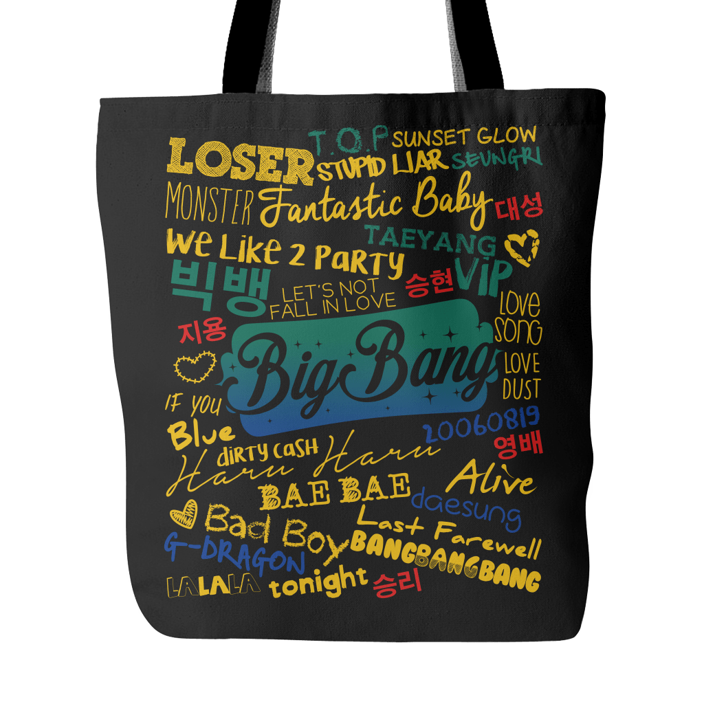 "BIG BANG ""COLLAGE"" 2016 Tote Bags - MYKPOPMART"
