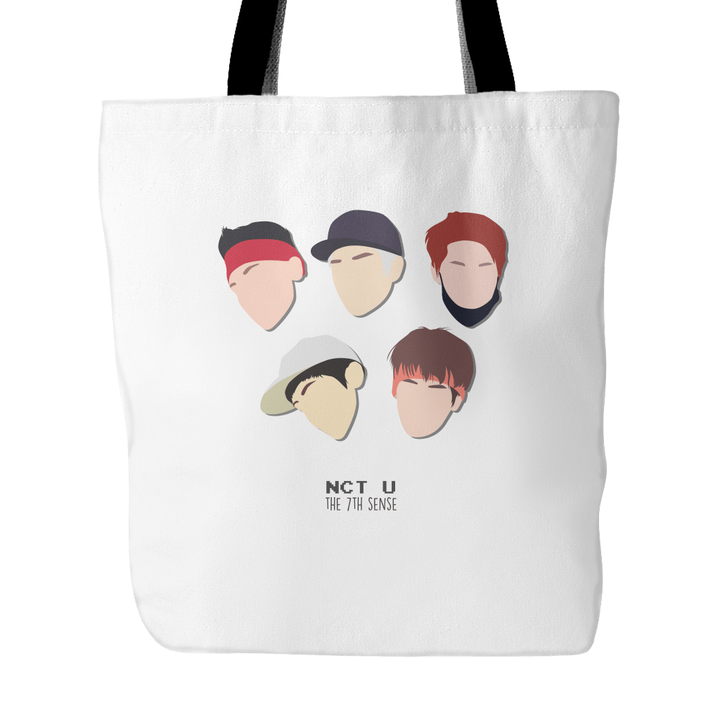"NCT U ""THE 7TH SENSE"" Tote Bags - MYKPOPMART"