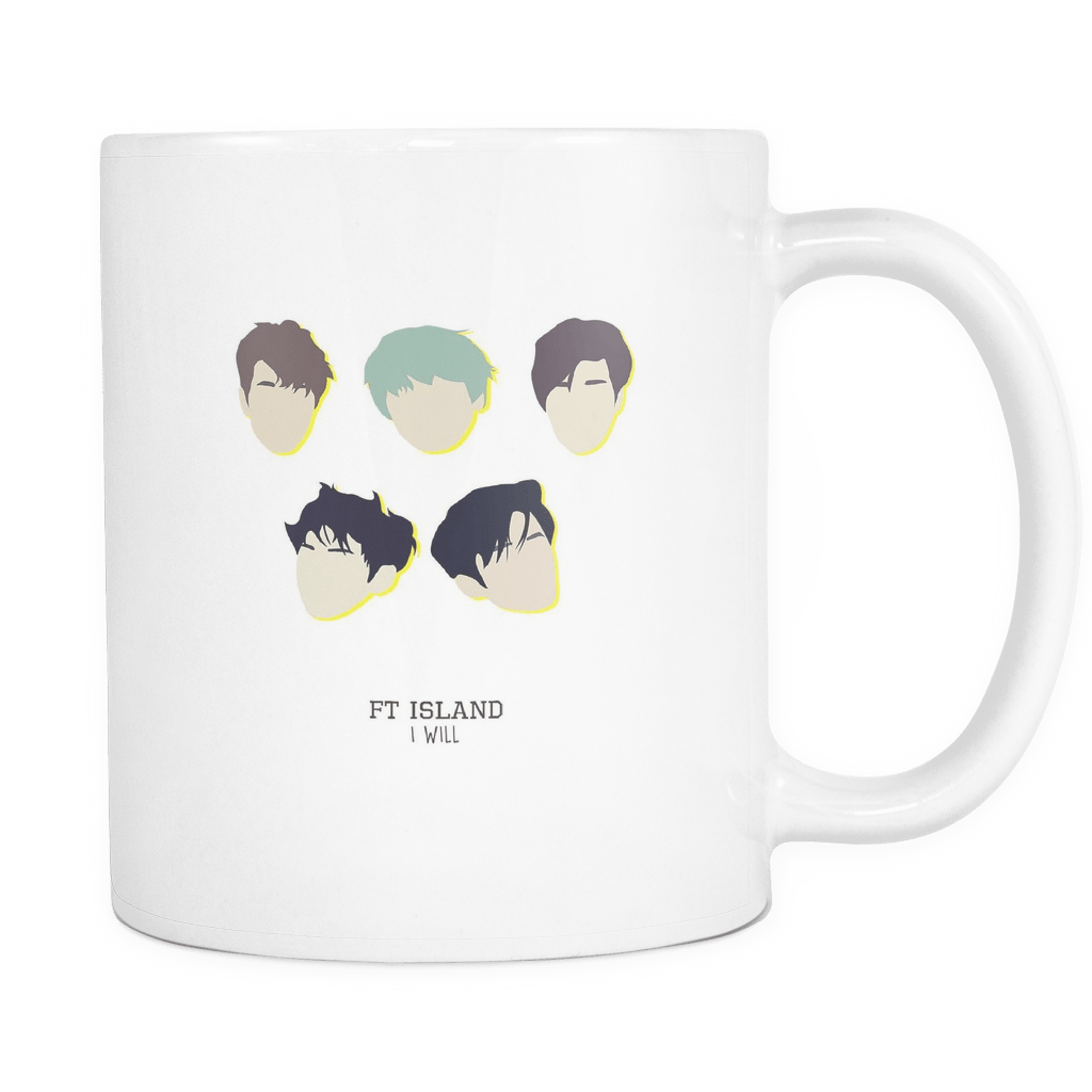 "FT ISLAND ""I WILL"" Drinkware - MYKPOPMART"