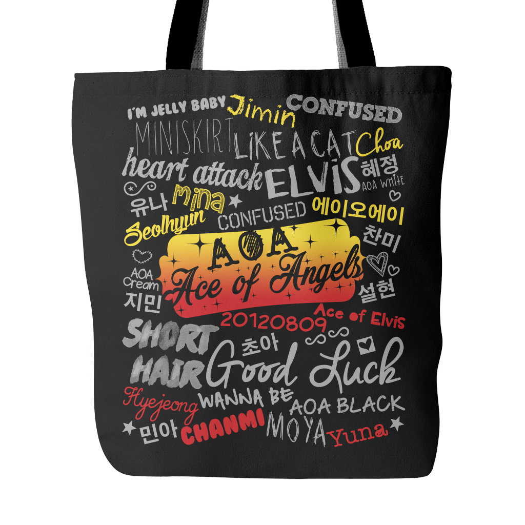 "AOA ""COLLAGE"" 2016 Tote Bags - MYKPOPMART"