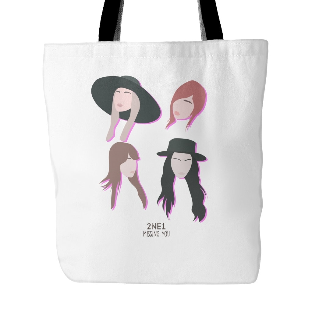 "2NE1 ""MISSING YOU"" Tote Bags - MYKPOPMART"