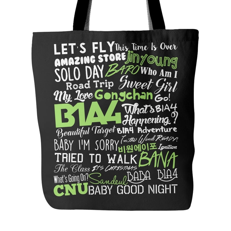 "B1A4 ""COLLAGE"" Tote Bags - MYKPOPMART"