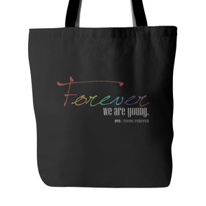 "BTS ""YOUNG FOREVER"" Tote Bags - MYKPOPMART"