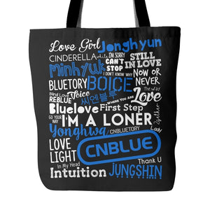 "CNBLUE ""COLLAGE"" Tote Bags - MYKPOPMART"
