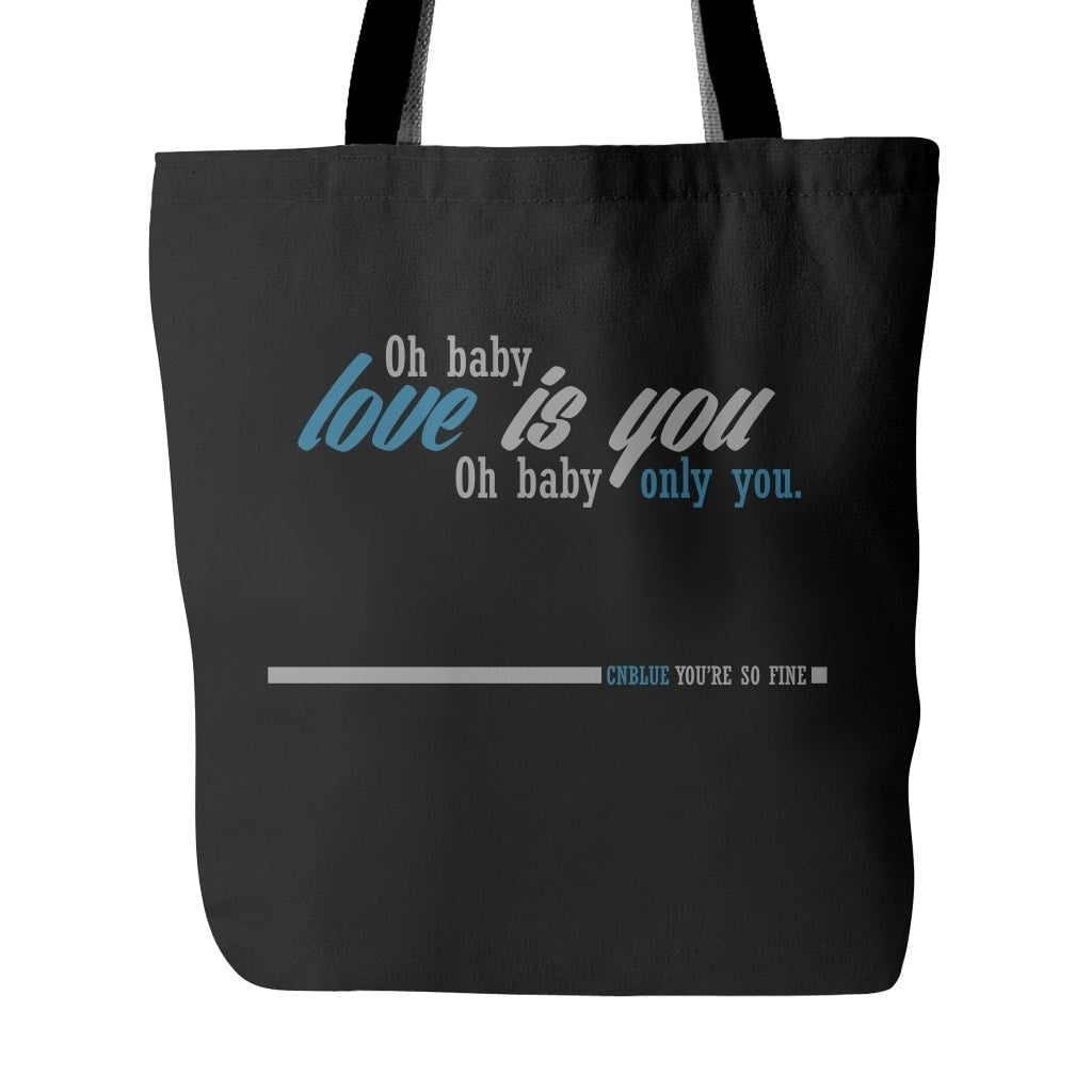 "CNBLUE ""YOU'RE SO FINE"" Tote Bags - MYKPOPMART"