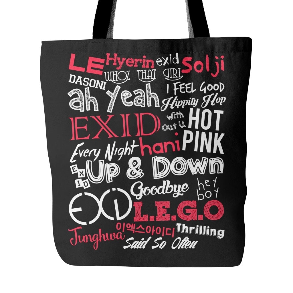 "EXID ""COLLAGE"" Tote Bags - MYKPOPMART"