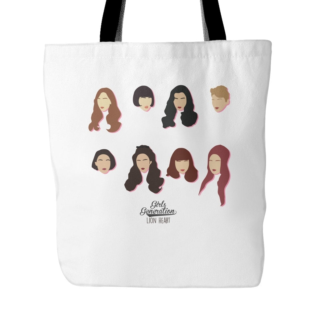 "Tote Bags - GIRL'S GENERATION ""LION HEART"""