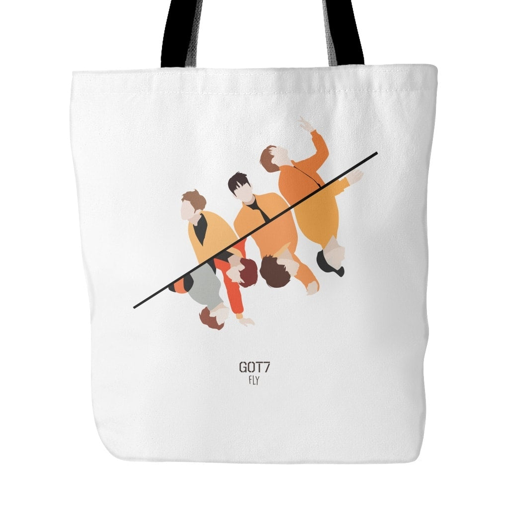 "GOT7 ""FLY"" Tote Bags - MYKPOPMART"