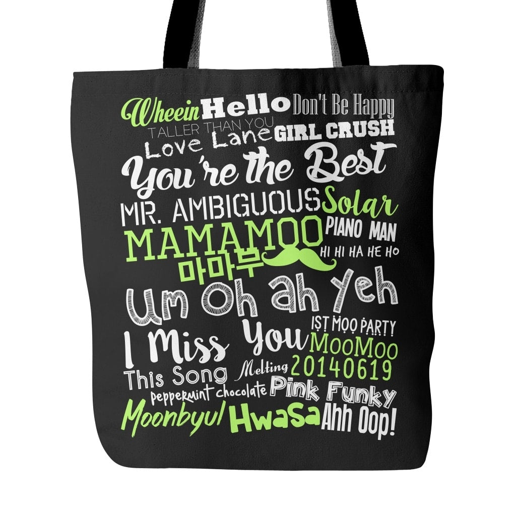 "MAMAMOO ""COLLAGE"" Tote Bags - MYKPOPMART"