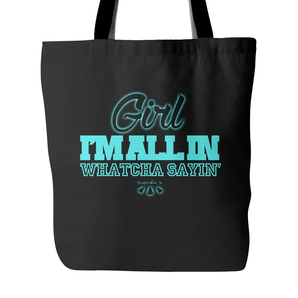 "Tote Bags - MONSTA X ""ALL IN"""