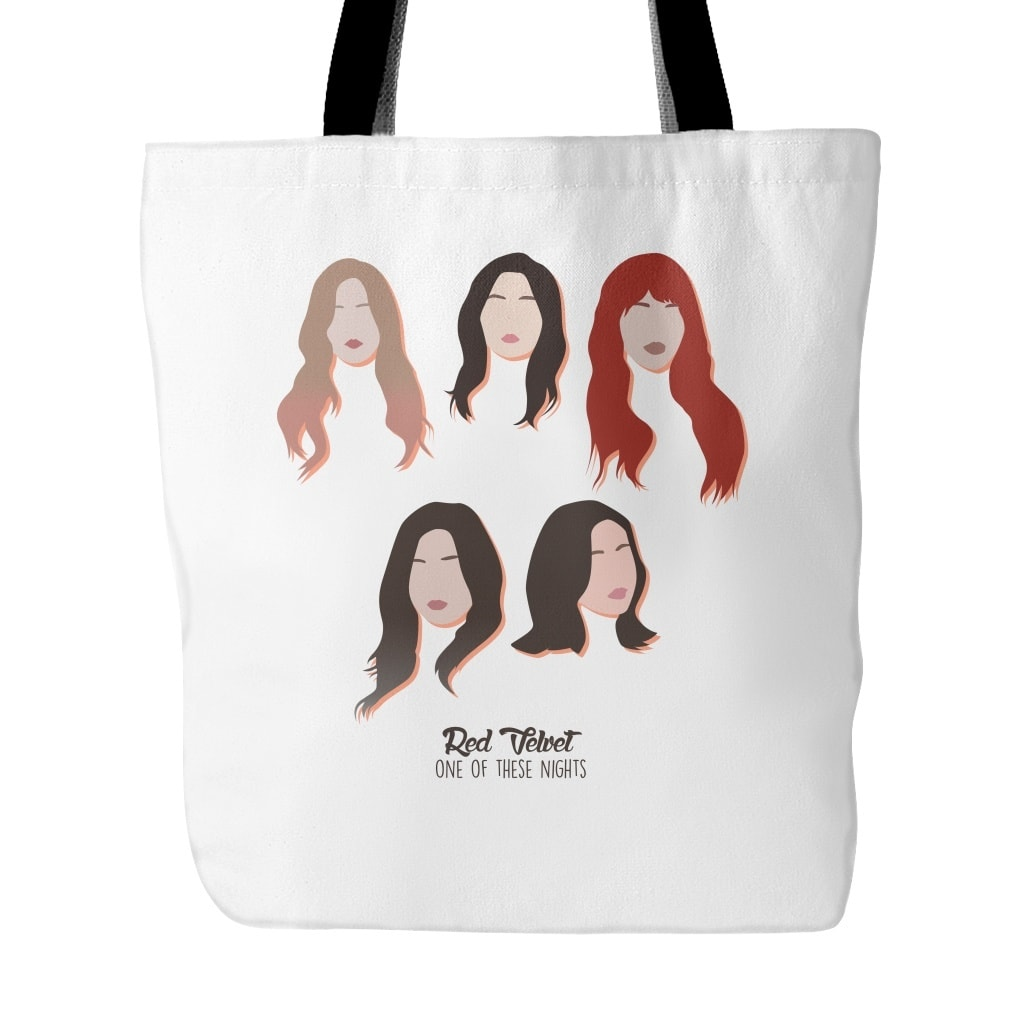 "Tote Bags - RED VELVET ""ONE OF THESE NIGHTS"""