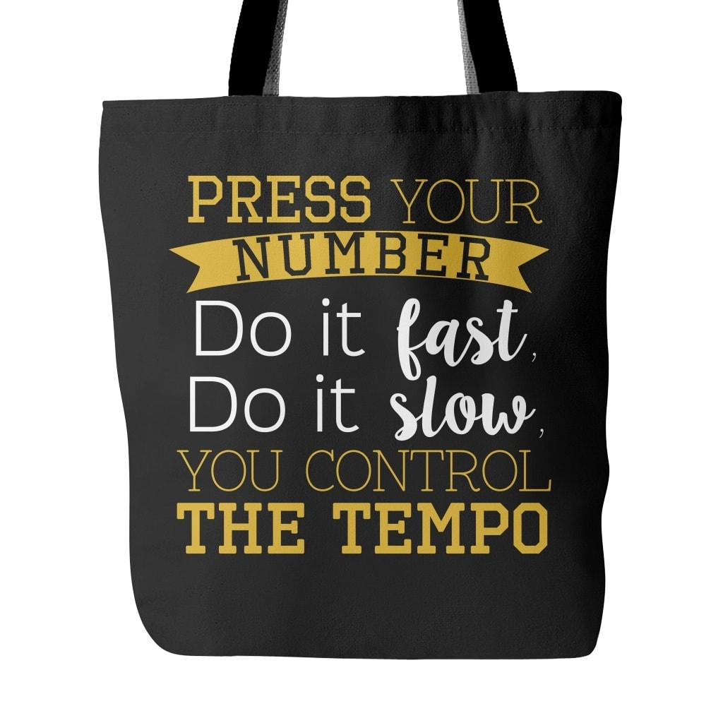"TAEMIN ""PRESS YOUR NUMBER"" Tote Bags - MYKPOPMART"