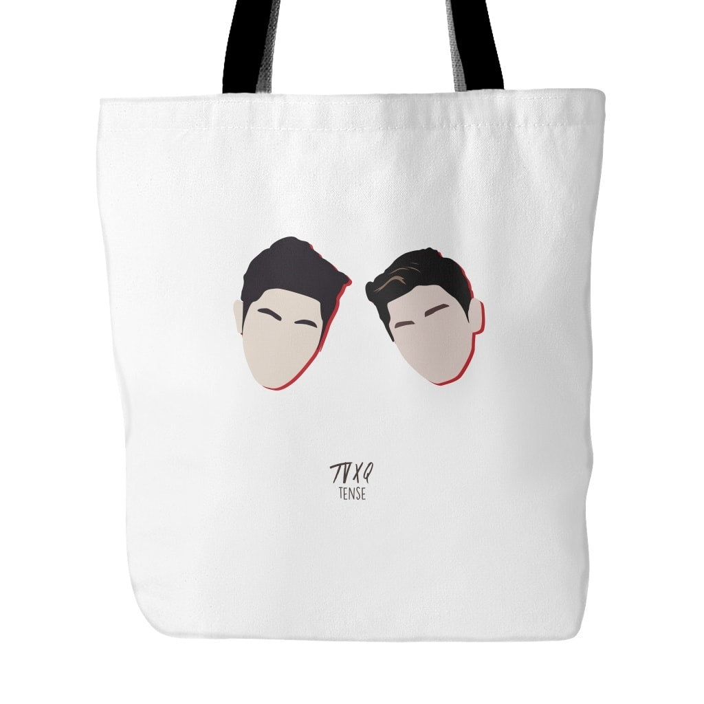 "TVXQ ""TENSE"" Tote Bags - MYKPOPMART"