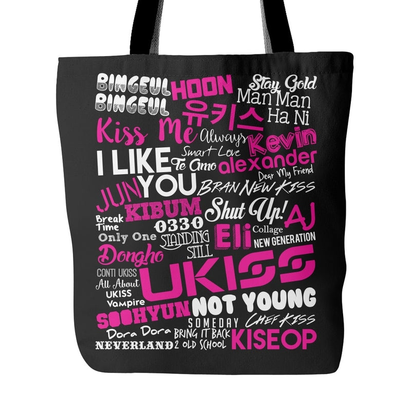 "U-KISS ""COLLAGE"" Tote Bags - MYKPOPMART"