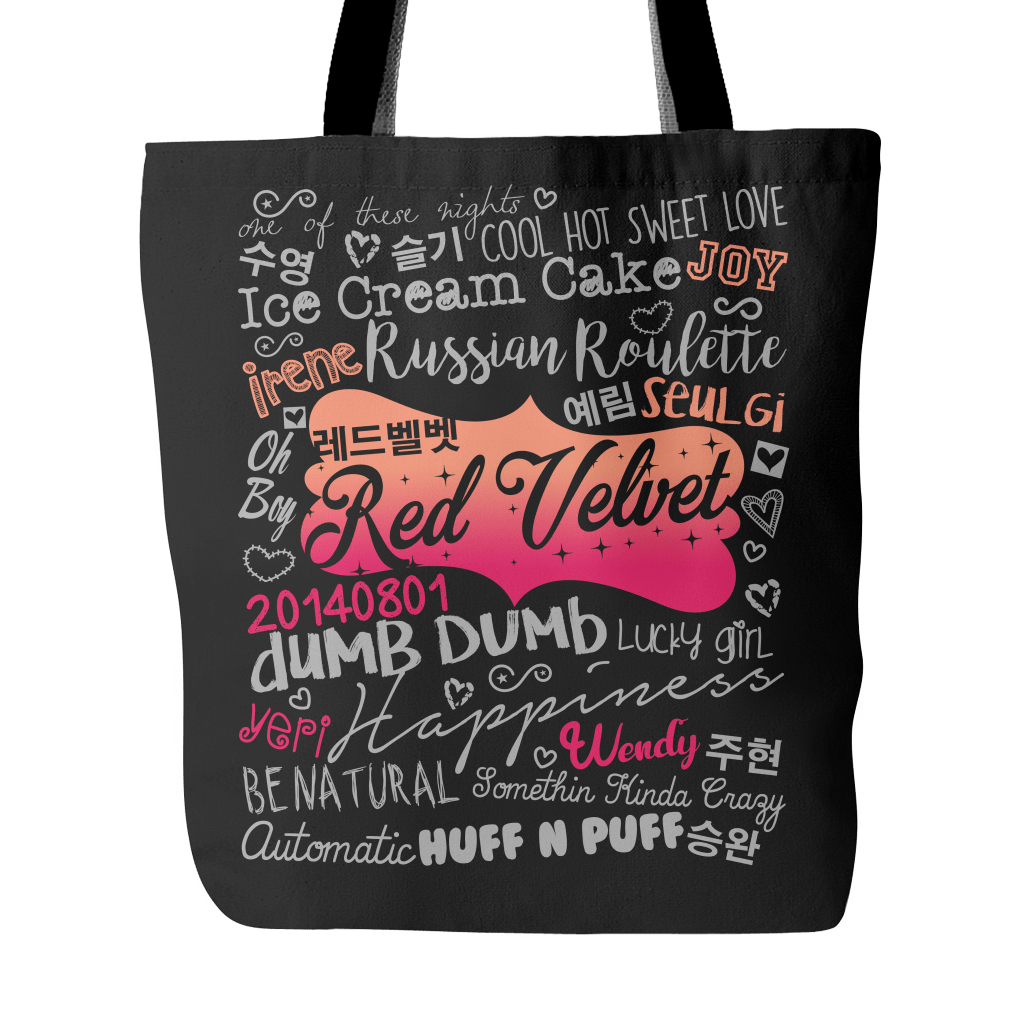 "RED VELVET ""COLLAGE"" 2016 Tote Bags - MYKPOPMART"