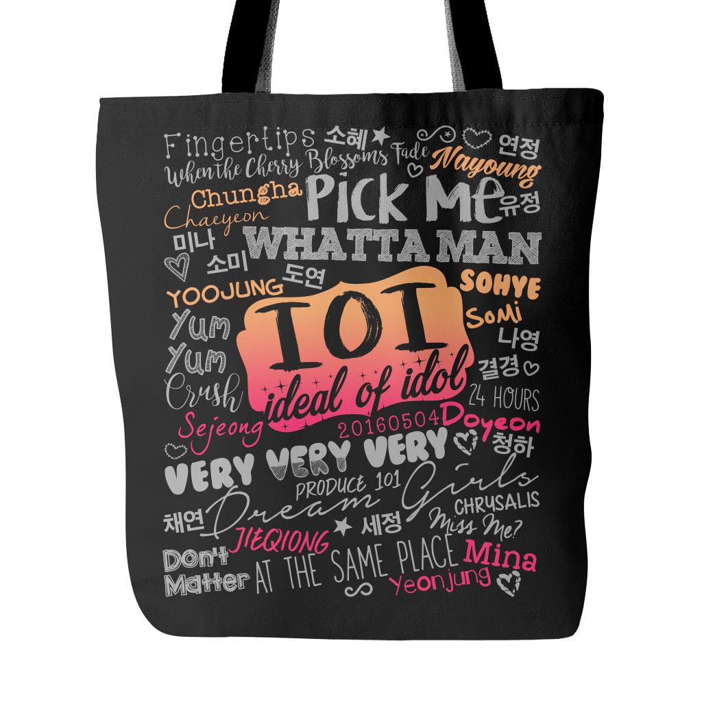 "I.O.I ""COLLAGE"" 2016 Tote Bags - MYKPOPMART"