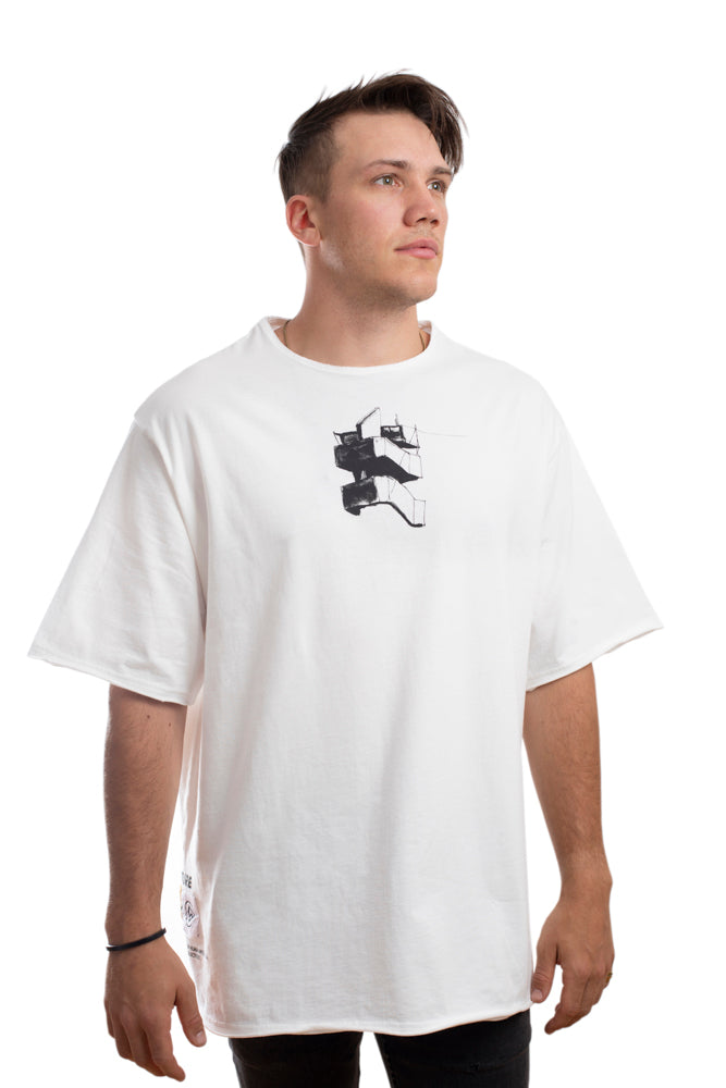 DESCENT - TEE - WHITE