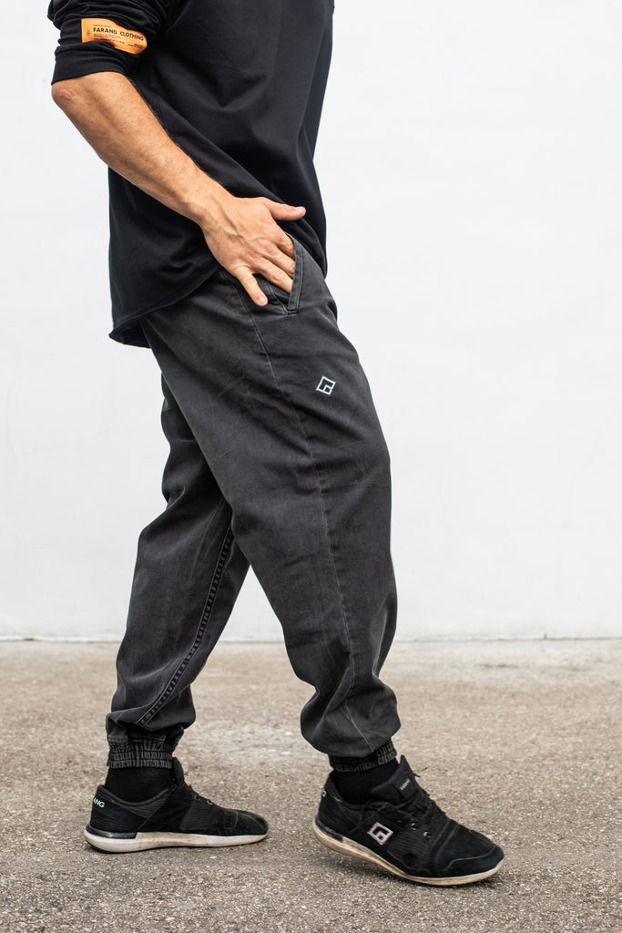 ESSENTIAL - BAGGY DENIM - CONCRETE GREY