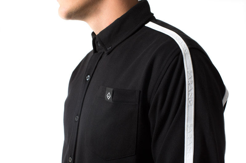 BORDER - SHIRT - (BLACK)