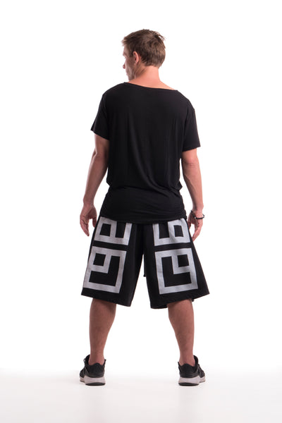 MASSIVE LOGO - SHORTS - (BLACK)