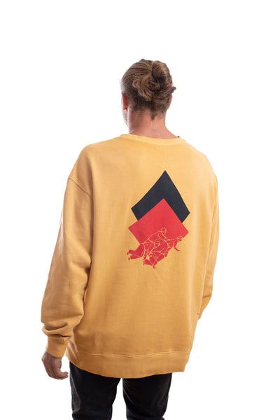OVERCOME - SWEATER - YELLOW