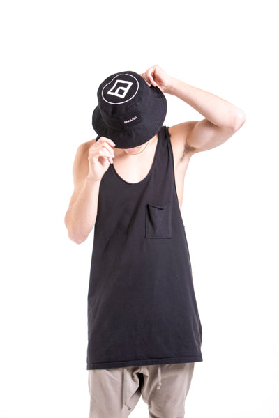 SHADY - BUCKET HAT - BLACK