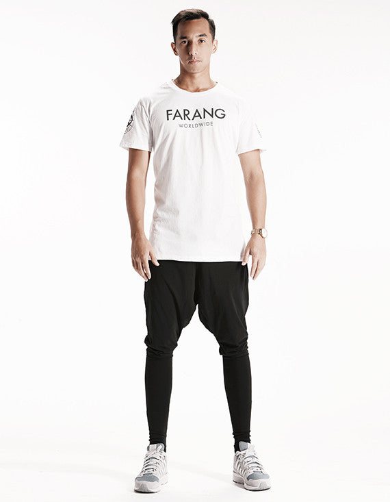 WORLDWIDE - TEE - (WHITE)