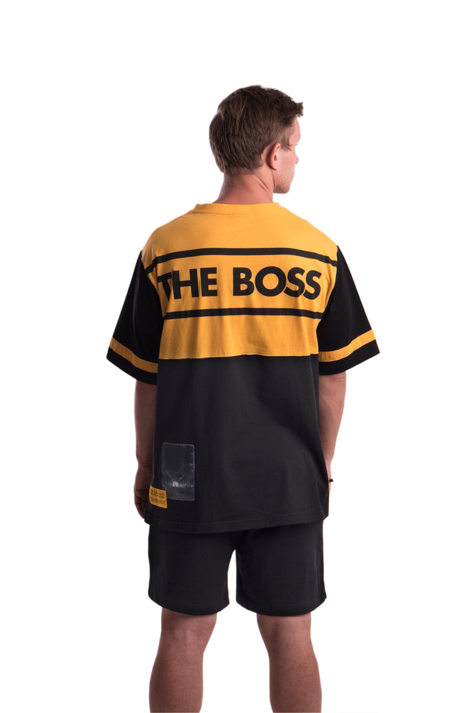 THE BOSS - TEE - (YELLOW/BLACK)