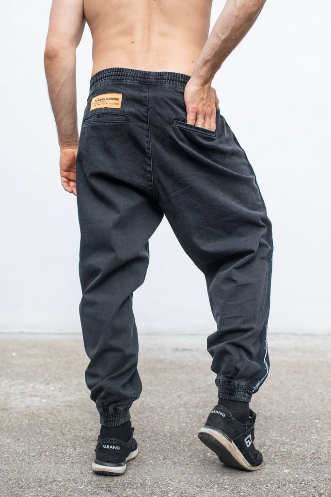 WIRE - BAGGY DENIM - CONCRETE GREY