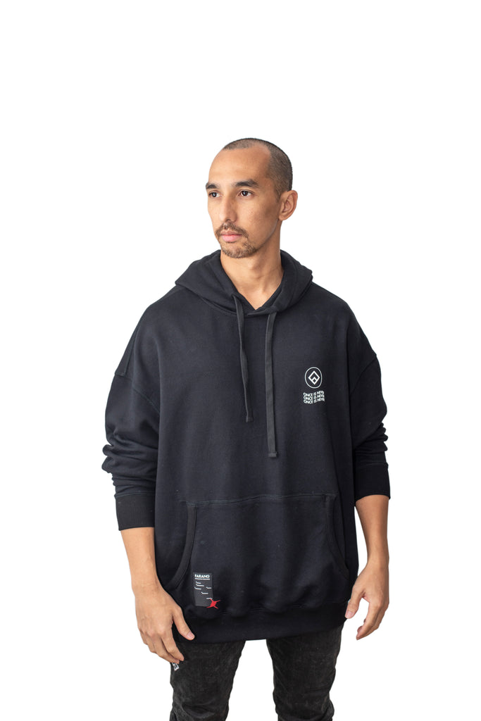 REPETITION - HOODIE - BLACK